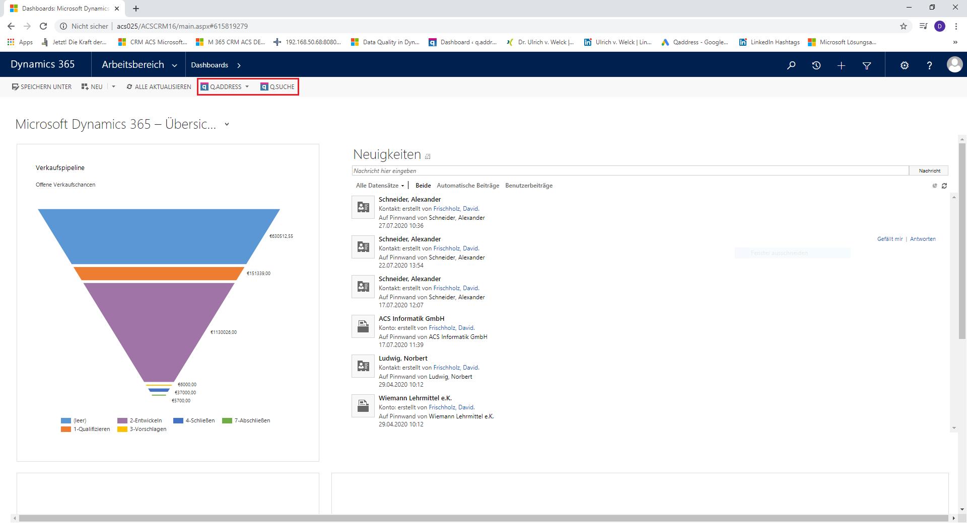 qaddress-Grundansicht-Microsoft-Dynamics-CRM