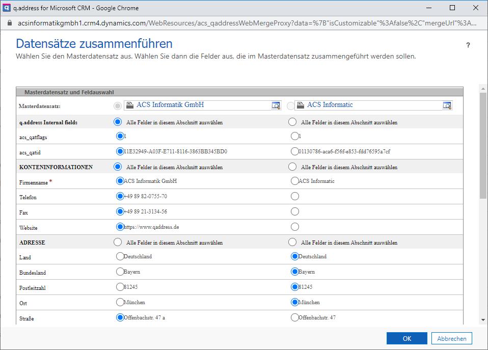 qaddress-Verschmelzung-Microsoft-Dynamics-CRM
